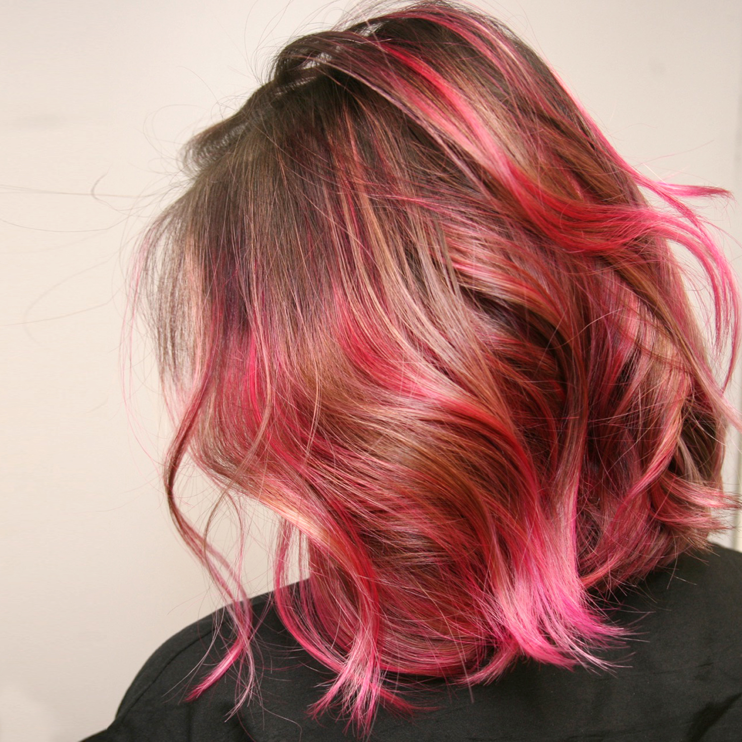 Colored Hair Style