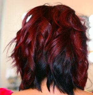Short Curely Hair